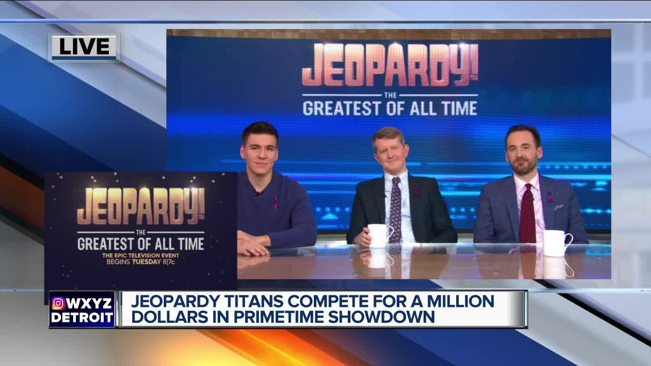 Jeopardy to host the 'Greatest of All Time' this week