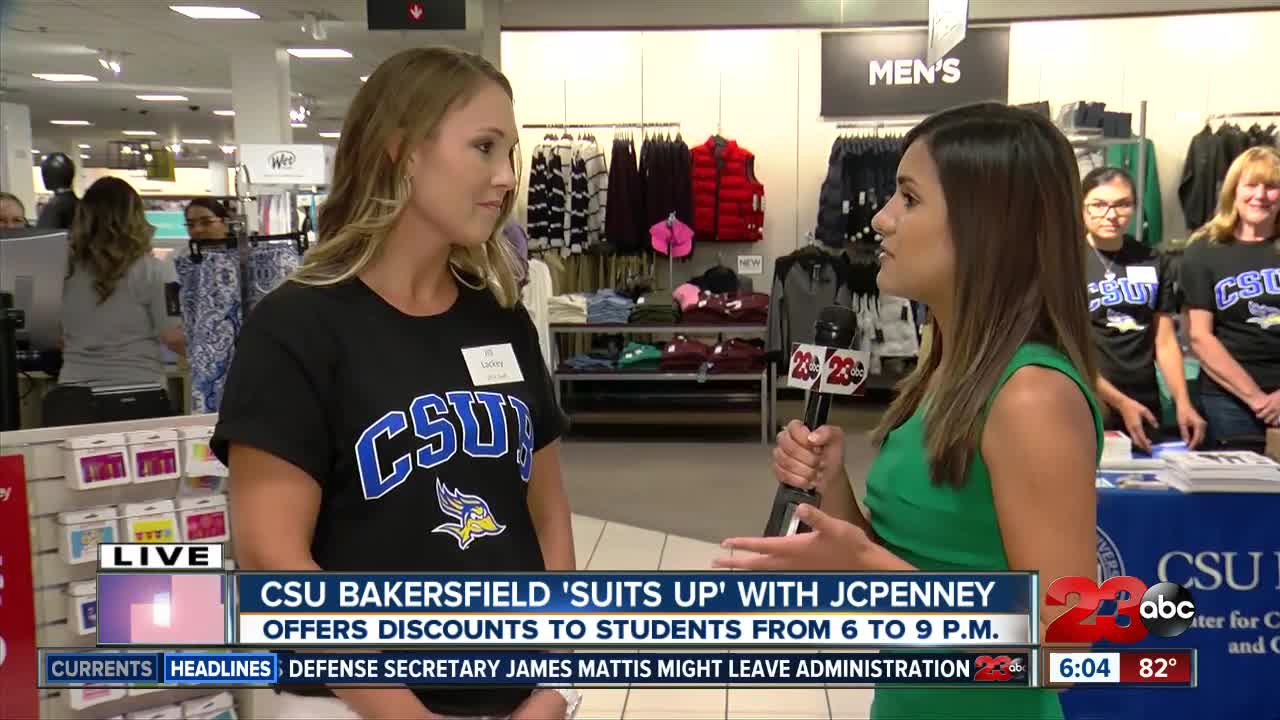 c51afce24eac CSU Bakersfield students  Suit Up  with JCPenney