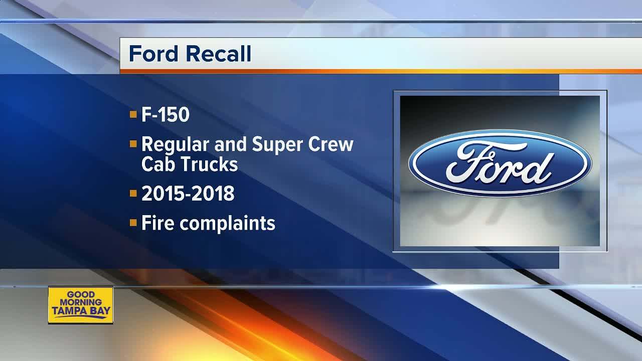 FORD RECALL: 2 million trucks recalled for seat belt issue
