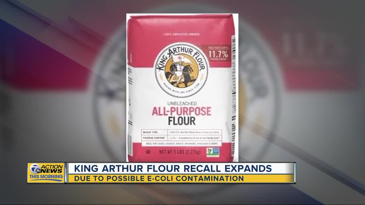 King Arthur Flour widens recall over potential E. coli contamination