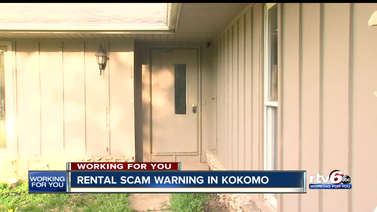 Rental scammers target house Kokomo woman is trying to sell