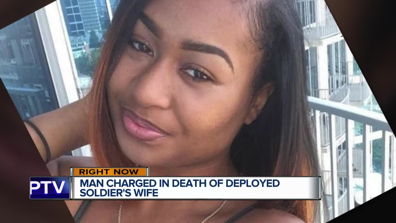 Man charged in Georgia army post death of soldier's wife
