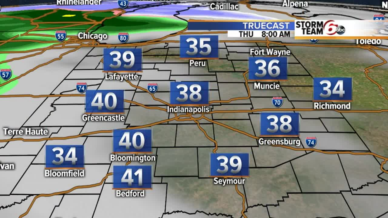 Weather Authority: Light snow on Christmas & late week rain/snow mix
