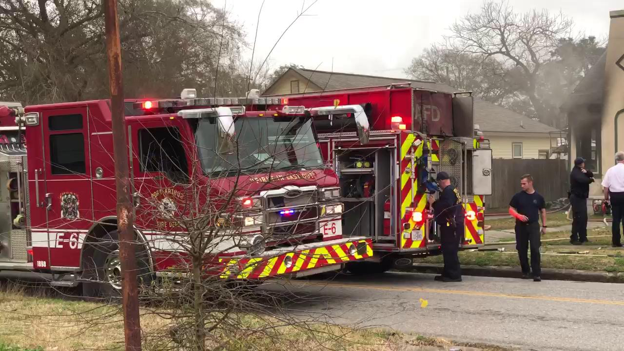 The Port Arthur fire department responded to a house fire in the 2900 blk of 7th St
