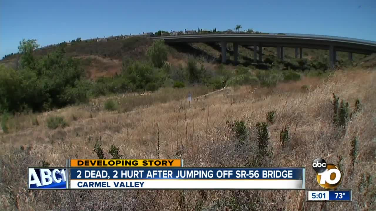 2 dead, 2 teen girls injured after jump from San Diego