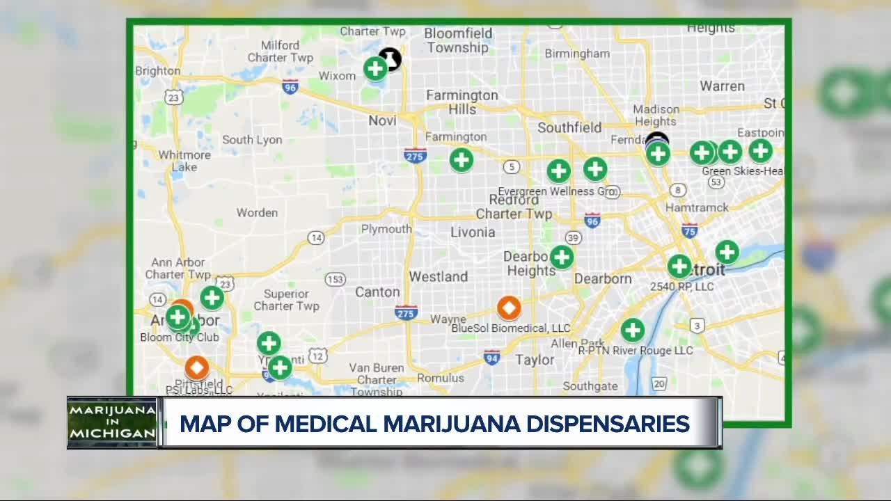 More than 70 medical marijuana dispensaries shut down over