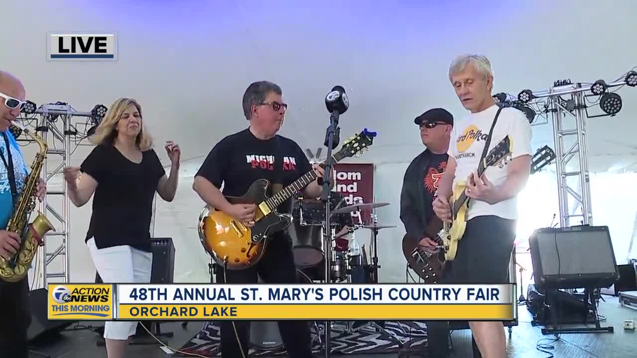 St Marys Polish Festival 2020 48th Annual St. Mary's Polish Country Fair underway in Orchard Lake