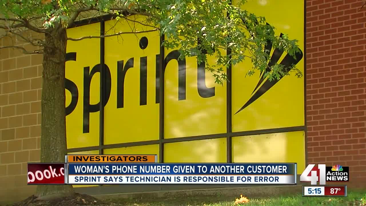 Family harassed after Sprint gives away cellphone number