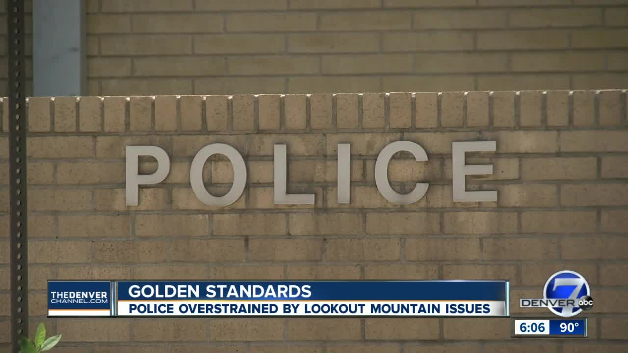 Golden Police say Lookout Mountain Youth Services Center incidents