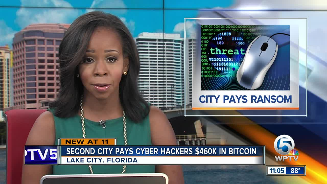 Another Florida city pays hackers over ransomware attack