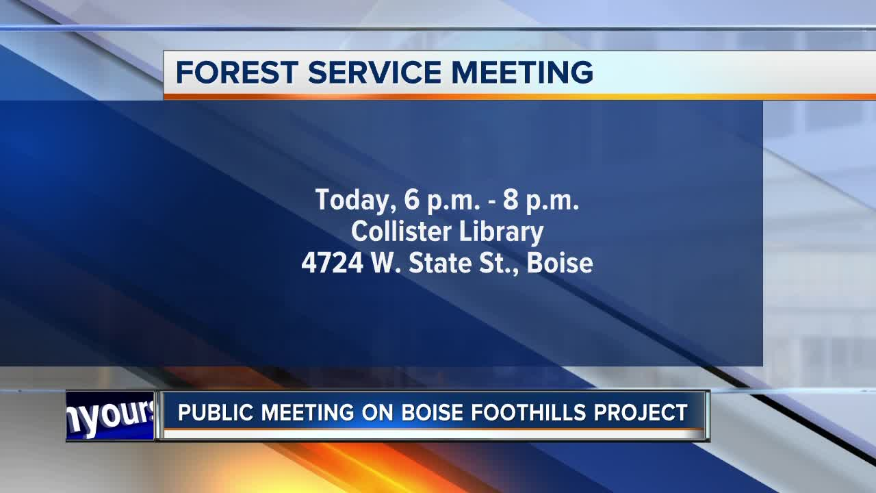 Boise National Forest Officials Hosting Public Meeting On