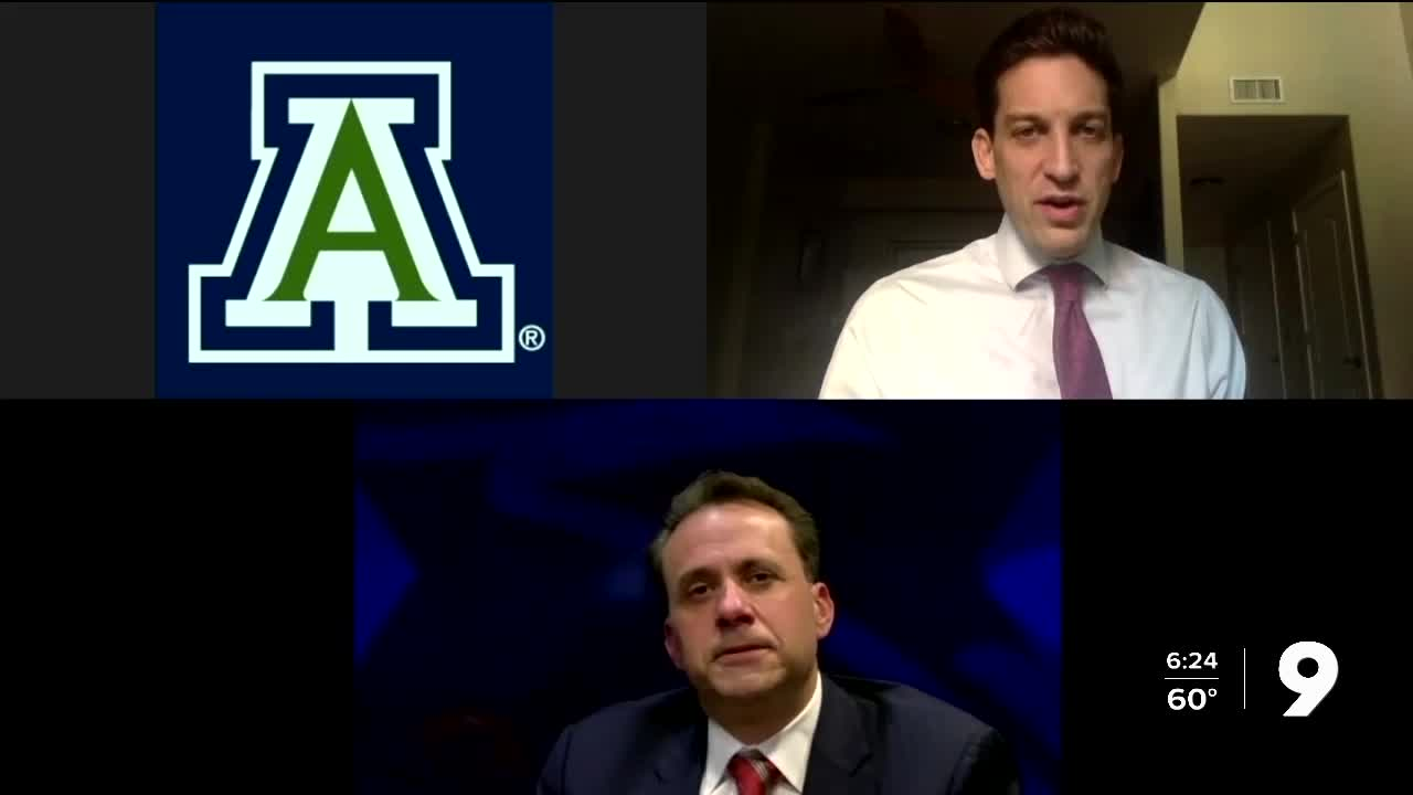Arizona football names Jedd Fisch as new head coach