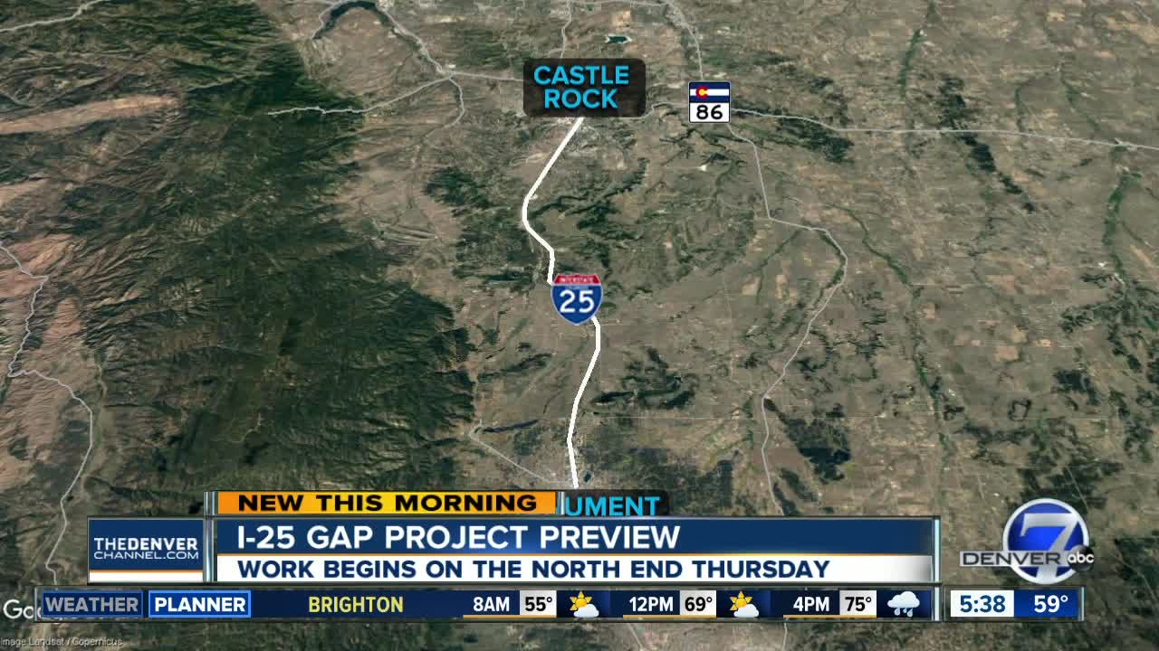 7 things to know about the I-25 Gap project including cost