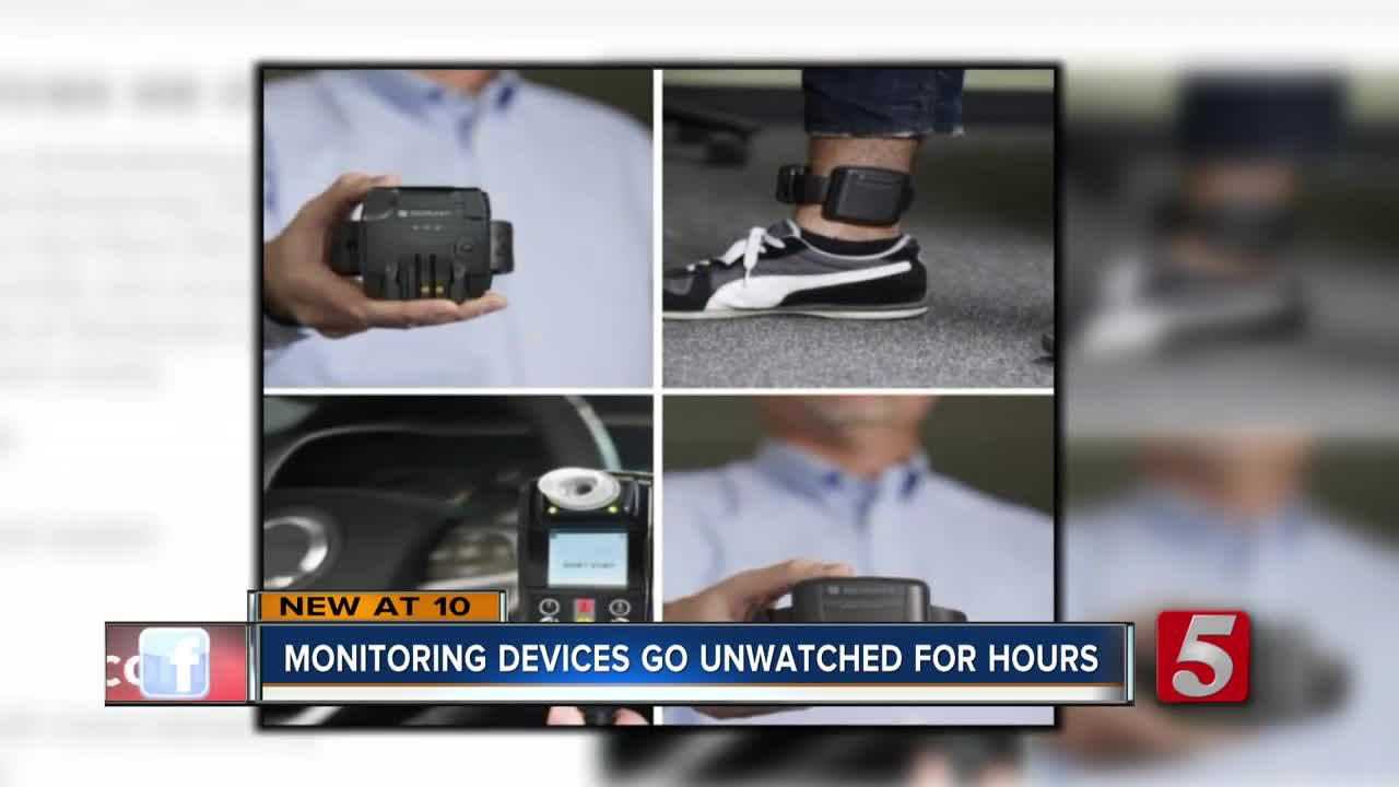 Ankle monitors of 20 Davidson Co  offenders turned off due