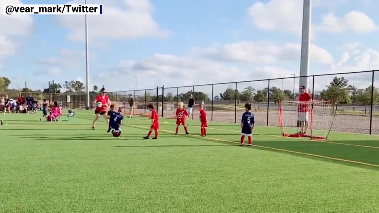 Parent says his son scored 22 goals in his first game