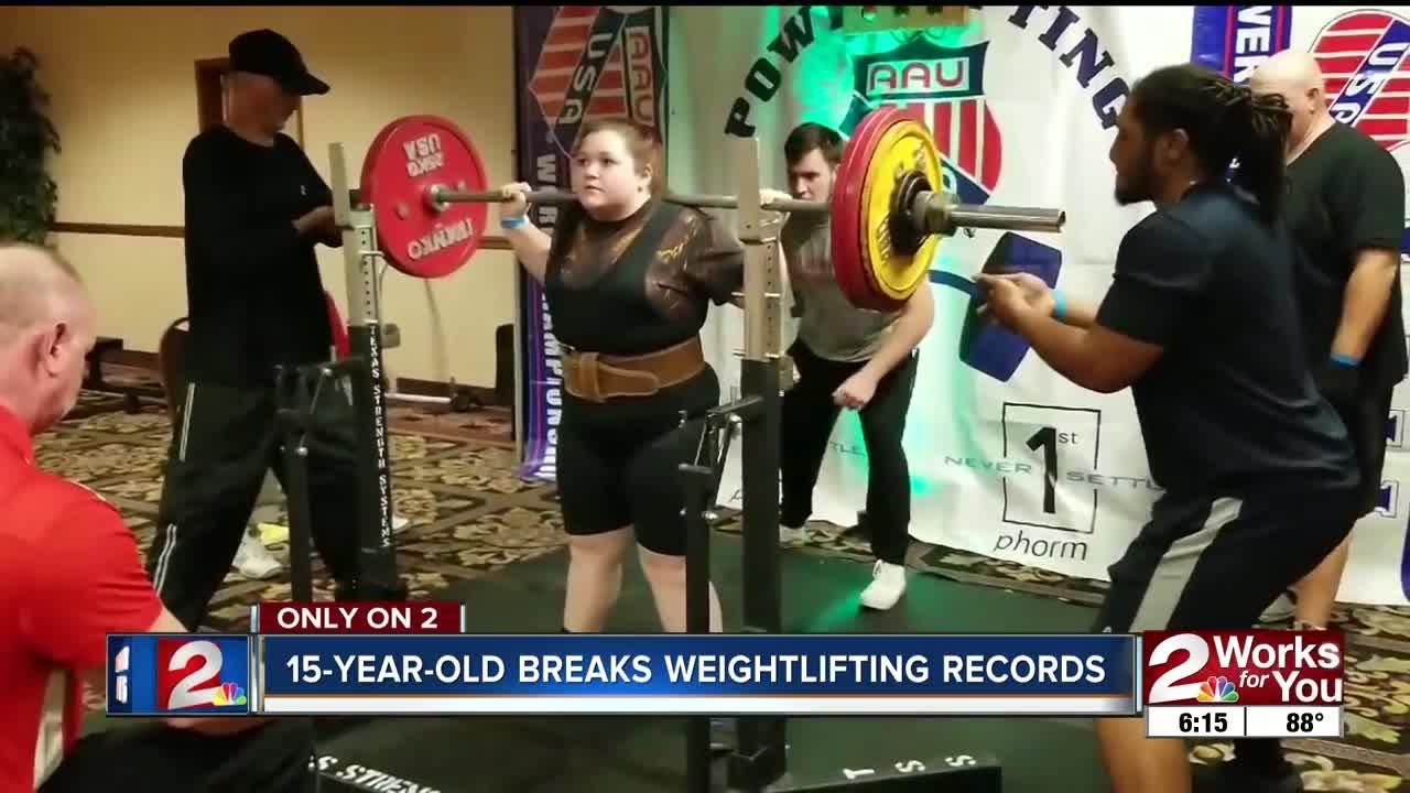 World Record Female Bench Press - BENCH