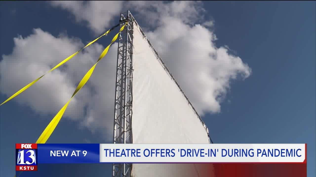 Pleasant Grove Theater Goes Retro Transforms Into Drive In Movie Theater