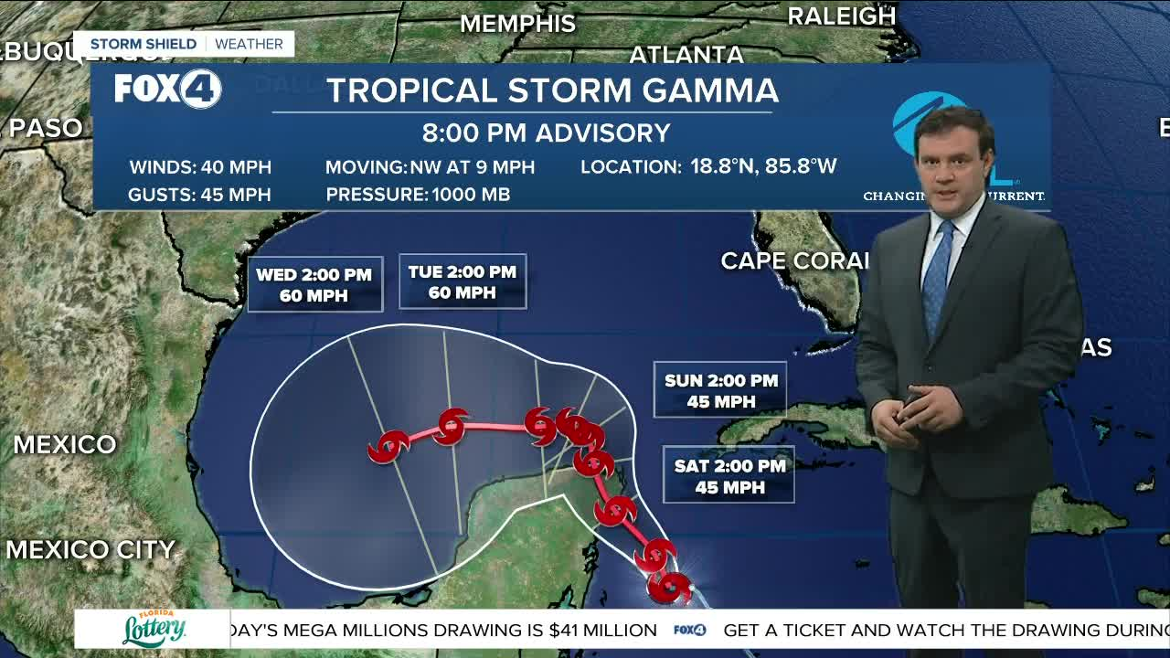 Tropical Depression 25 forms in Caribbean Sea