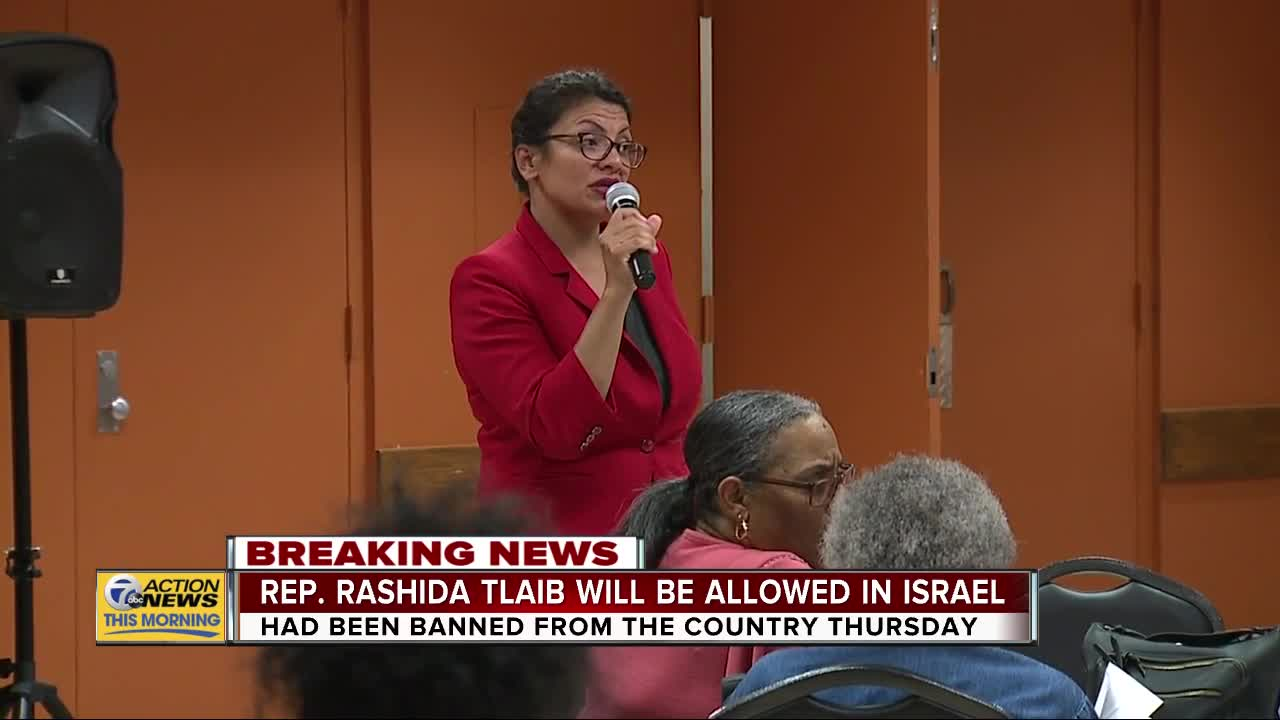 Rep. Rashida Tlaib rejects Netanyahu's terms and forgoes trip to visit grandmother