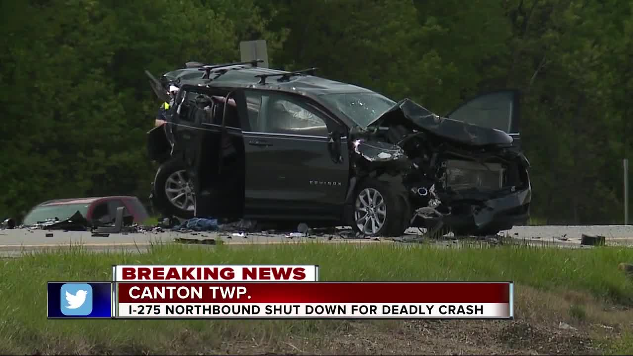 Canton Twp  man killed in crash on I-275 near Ford Rd