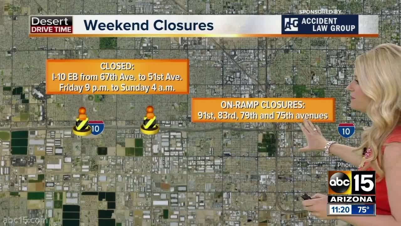 Weekend Travel Alert (April 5-8): Parts of I-10 will close