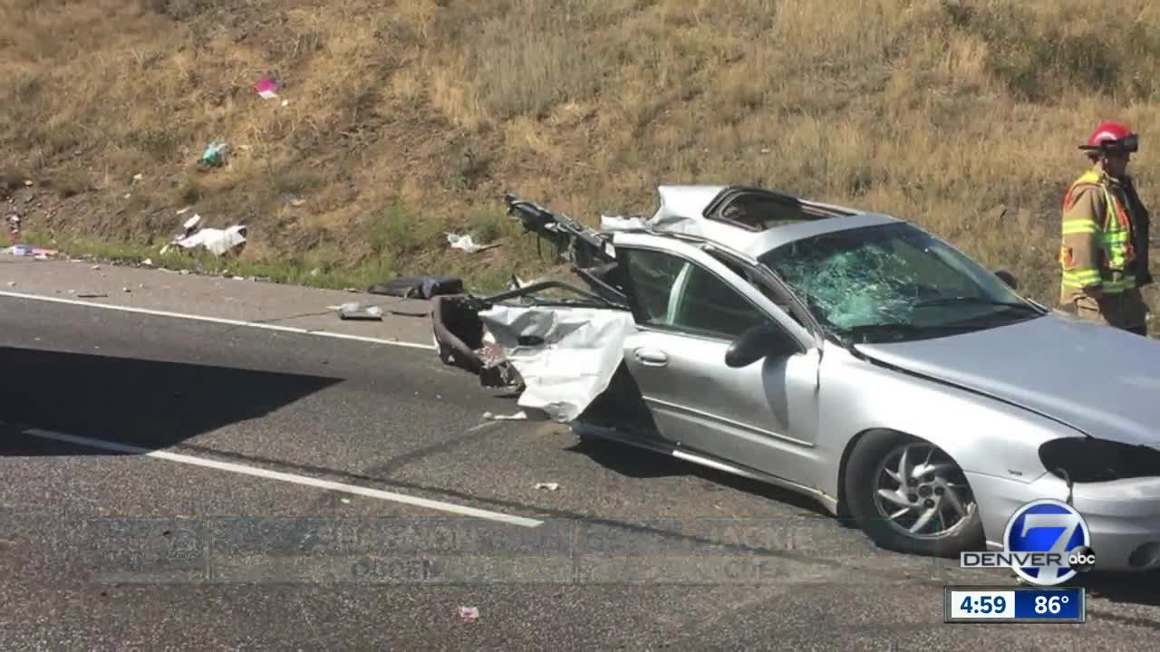 Child killed in I-70 crash near Lookout Mountain that shut