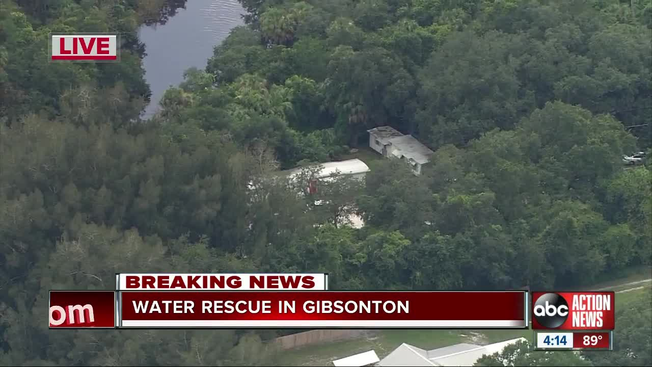 9-year-old boy dies after being pulled from Gibsonton creek