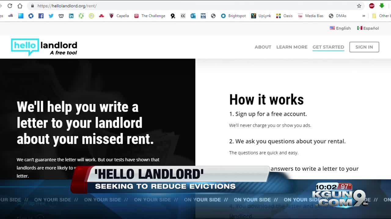 Wildcat involvement in creating 'Hello Landlord,' seeking reduced