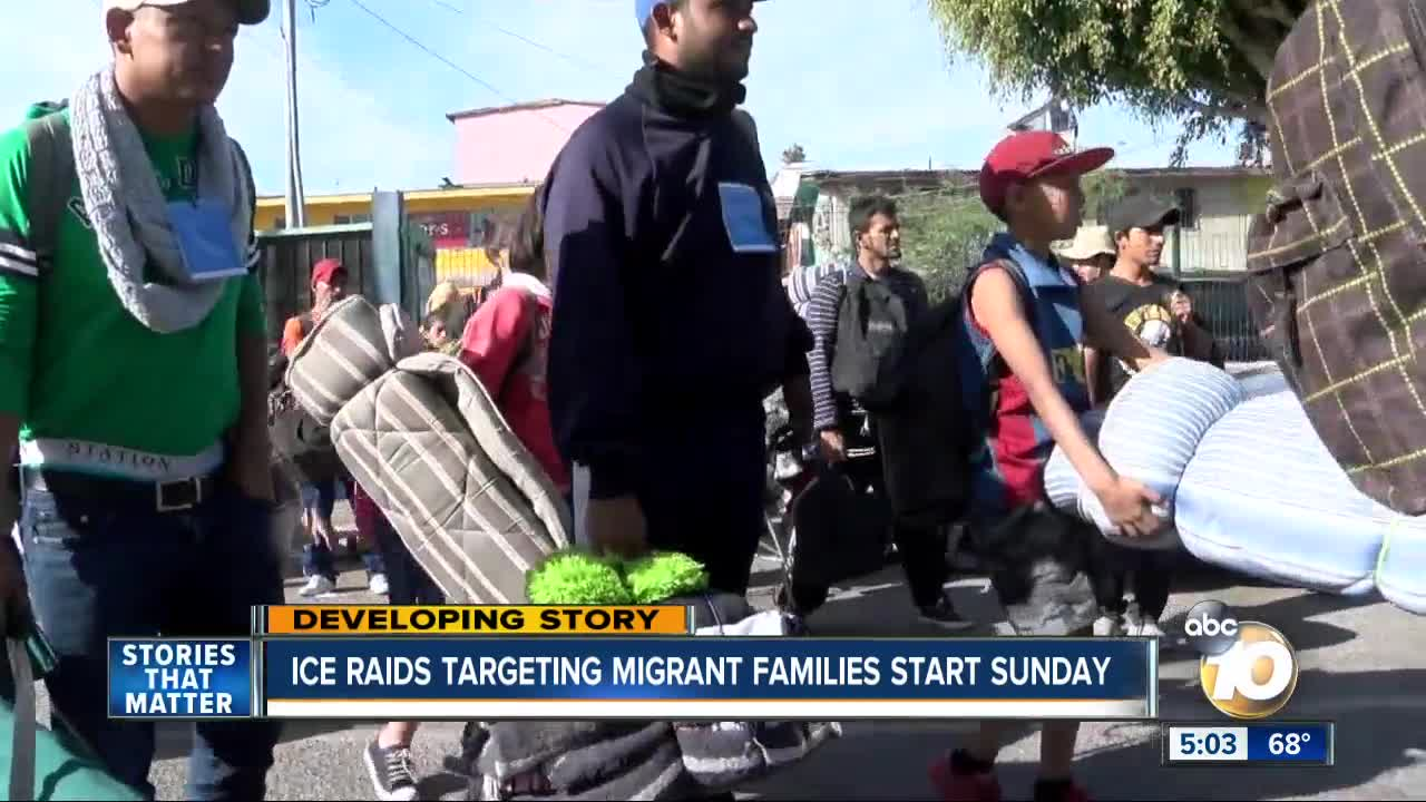 Official: ICE to begin immigration raids in 10 cities on