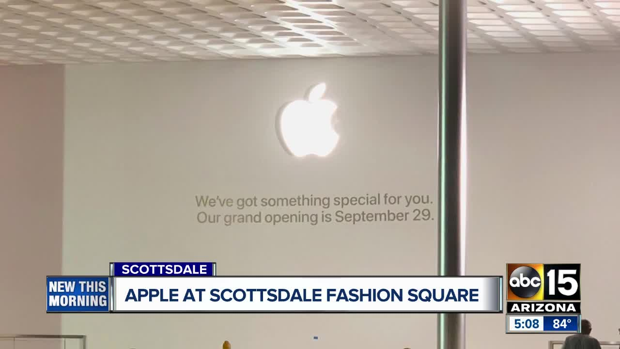 Apple Store opens today at Scottsdale Fashion Square