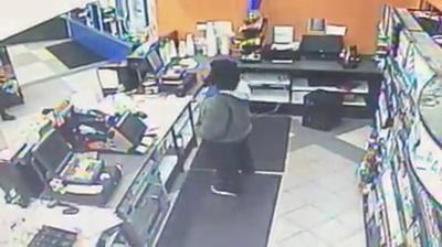 Crime Stoppers: Aggravated Robbery at  Beaumont Exxpress Mart Robbery