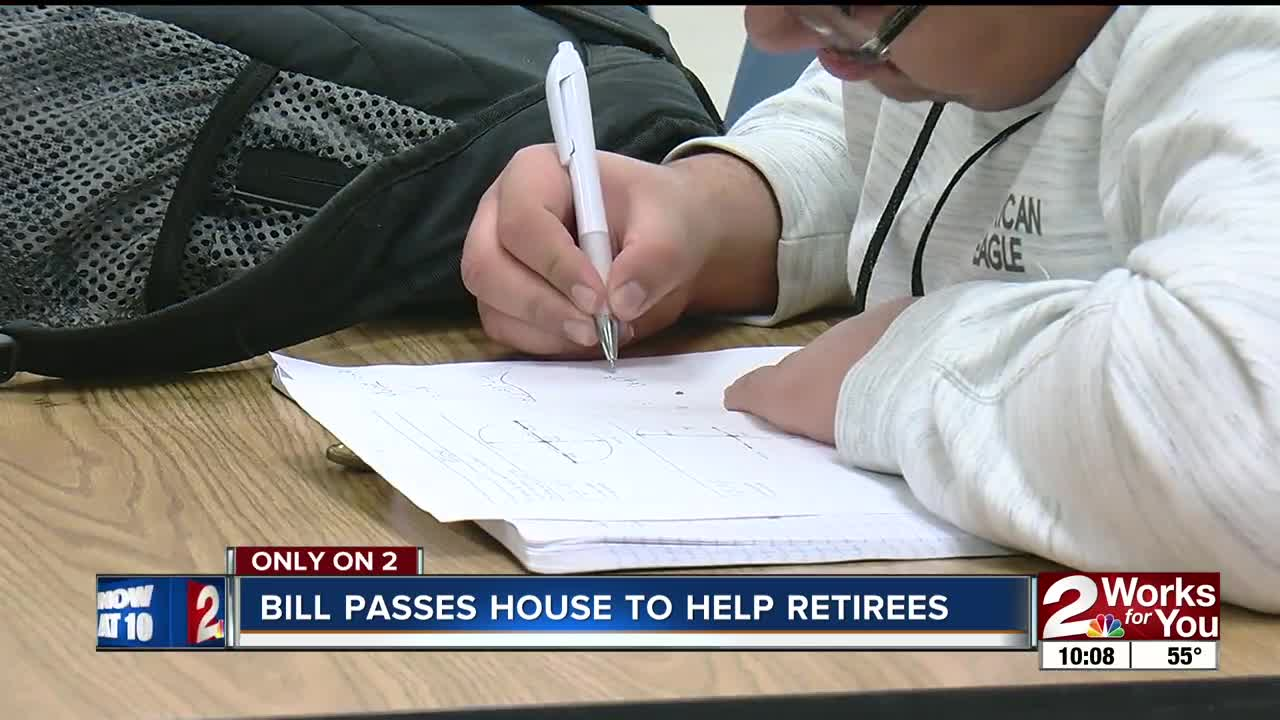House Bill 2304 moves to the senate, proposing 4 percent cost of
