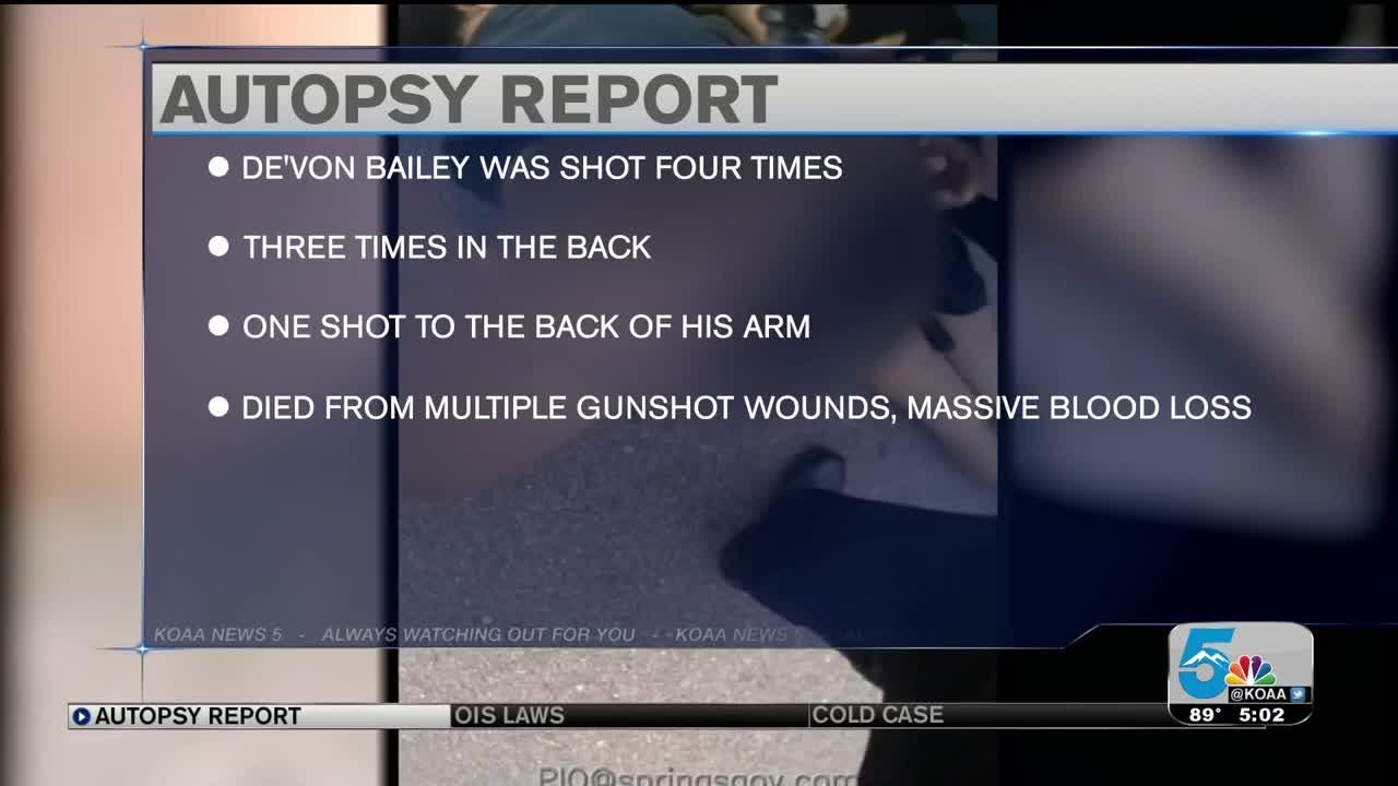 Body Camera Footage In De'Von Bailey Shooting Released