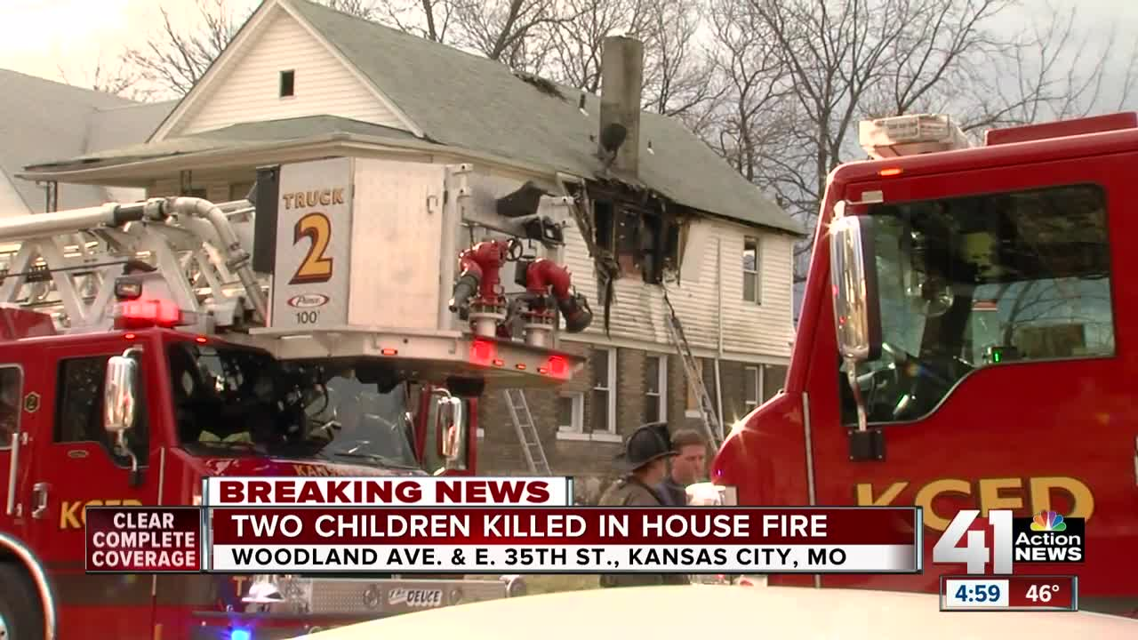 two children dead in kcmo house fire. Black Bedroom Furniture Sets. Home Design Ideas