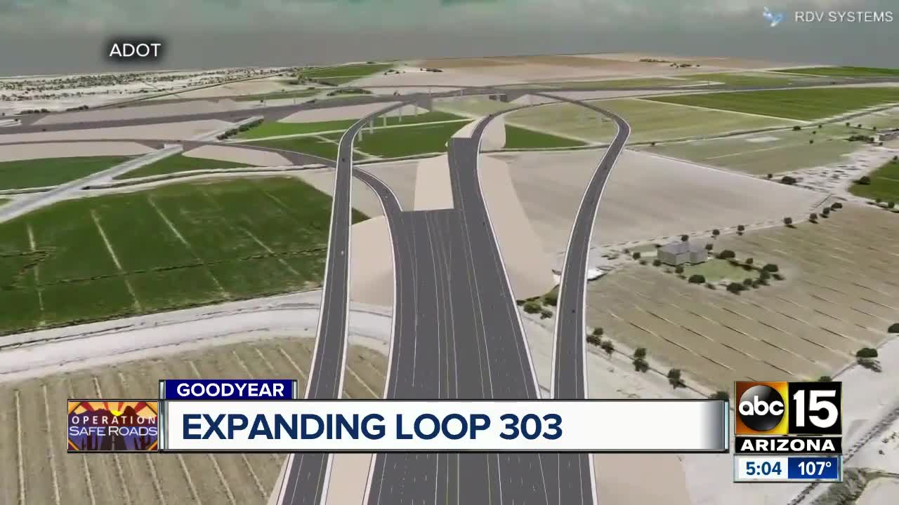 Map Of Loop 303 Arizona.Adot Asking Public To Weigh In On Loop 303 Extension In West Valley