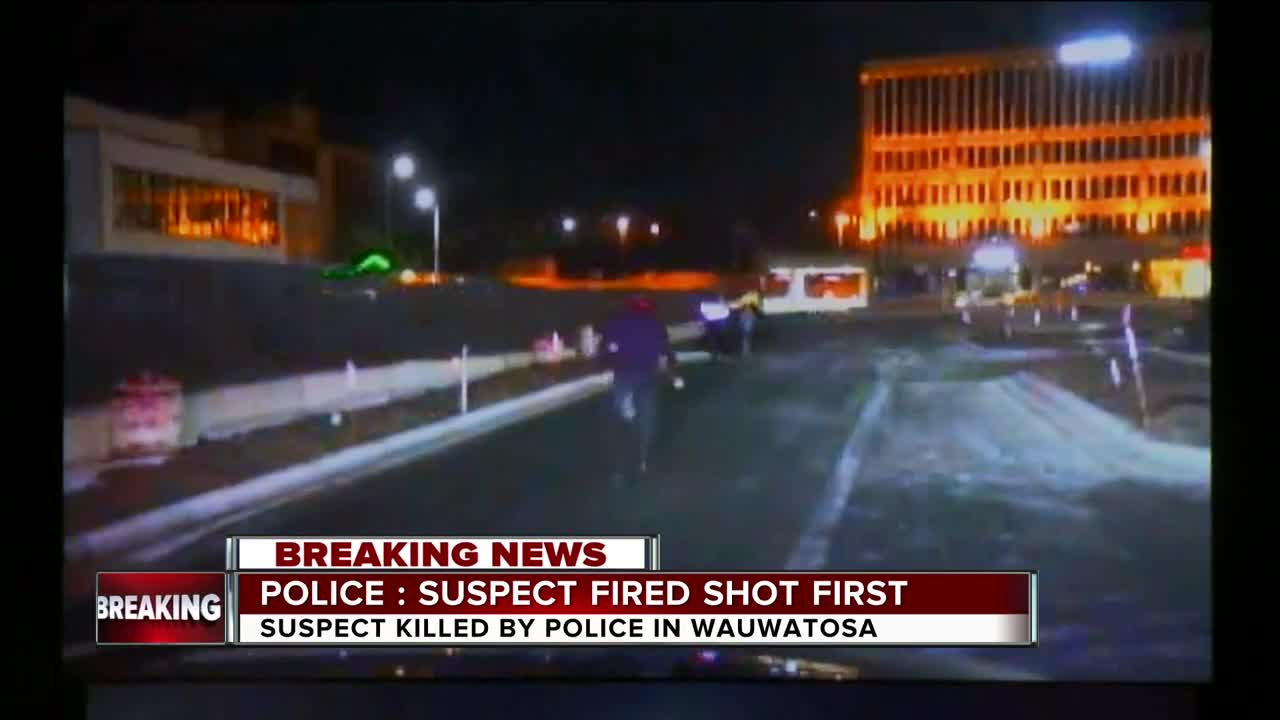 shooting: police fired Wauwatosa teen  Officer-involved say