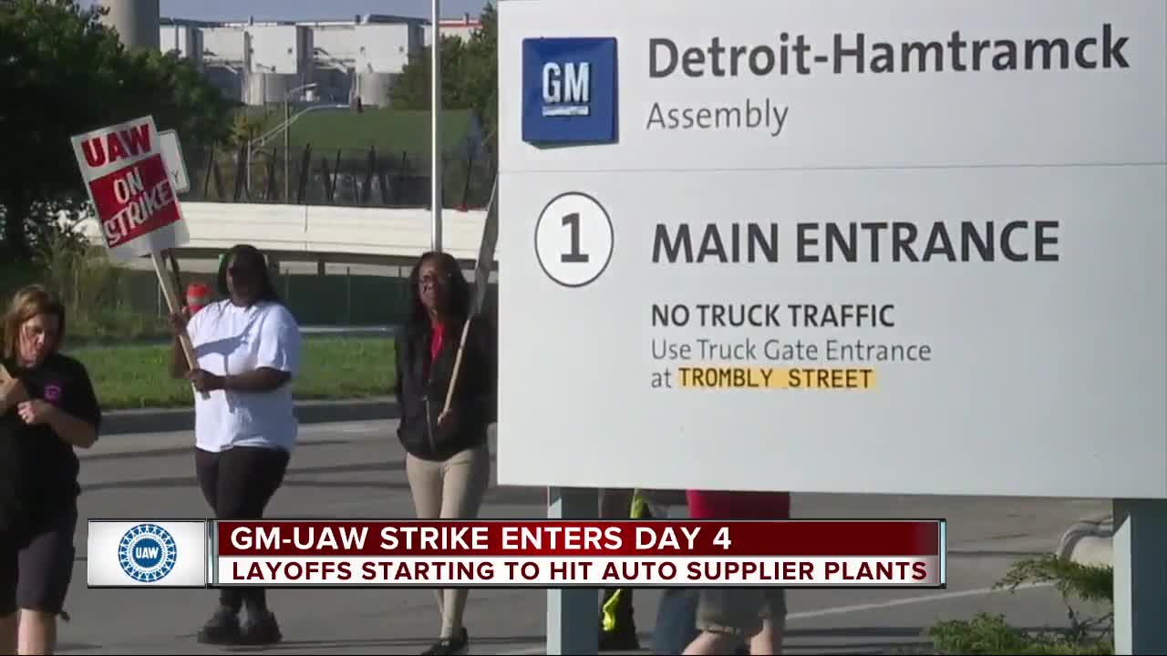 'Some progress made' as UAW-GM negotiations continue amid strike