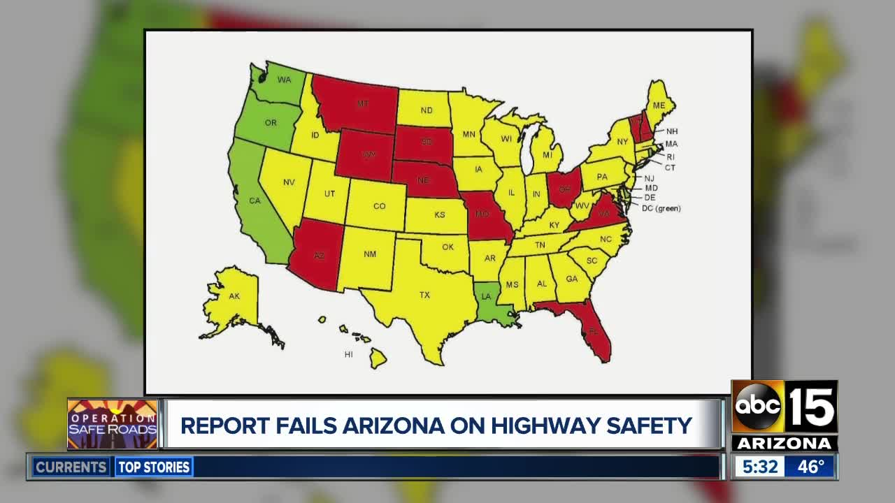 Highway 11 Arizona Map.Arizona Is Falling Dangerously Behind With Road Safety Laws 2019