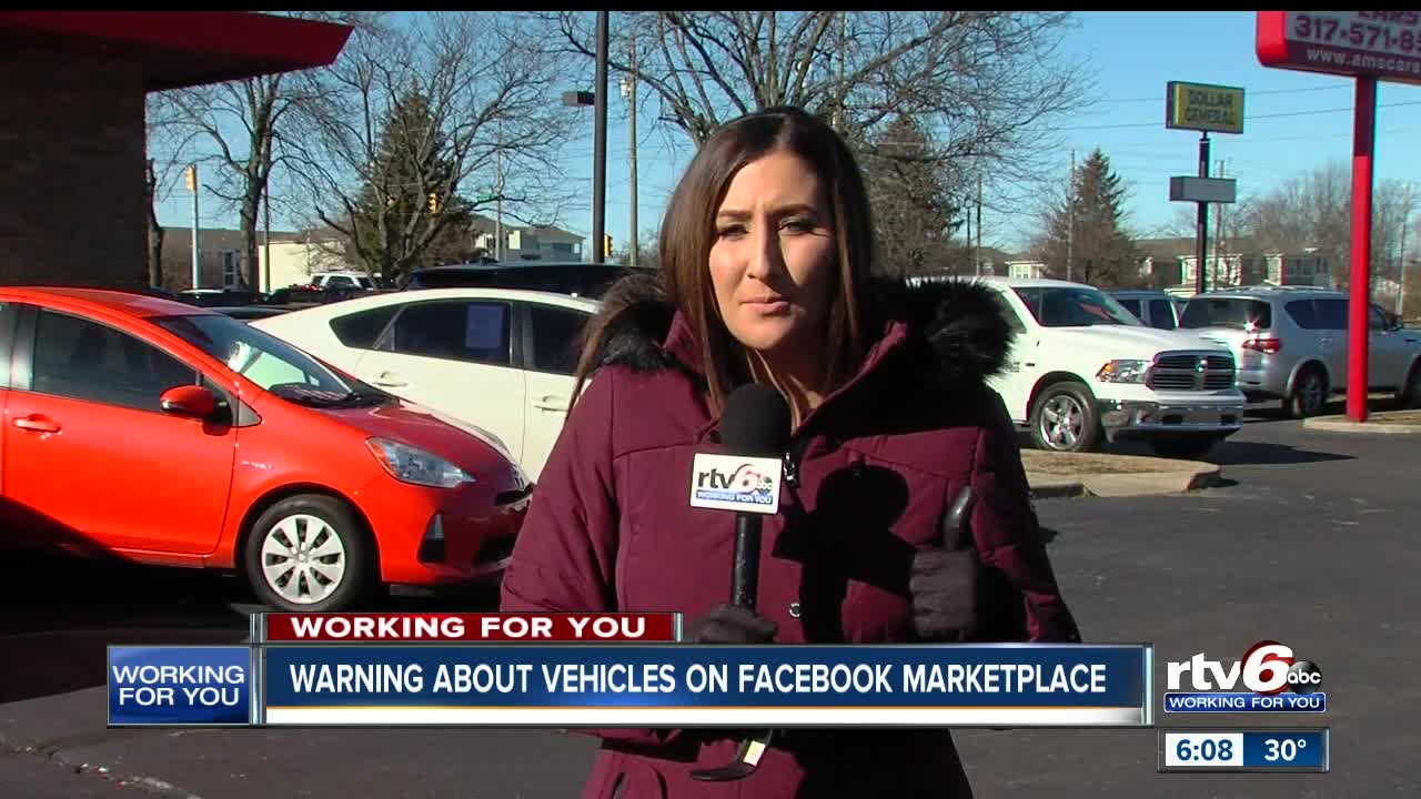 Facebook Marketplace Vehicle Scam Prompts Warning