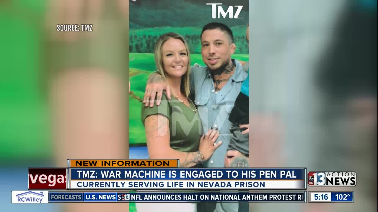 War Machine Finds Love Gets Engaged While Serving Life In Prison
