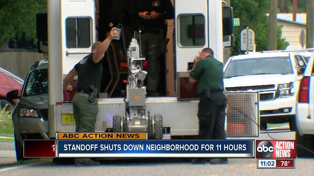 Ten-hour SWAT Standoff Ends With Arrest Of Aggravated