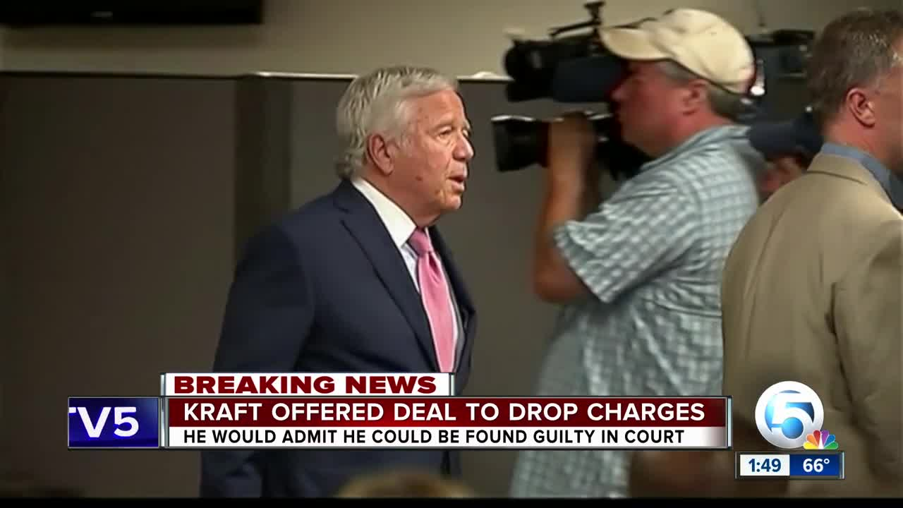 Robert Kraft Offered Deal In Prostitution Case