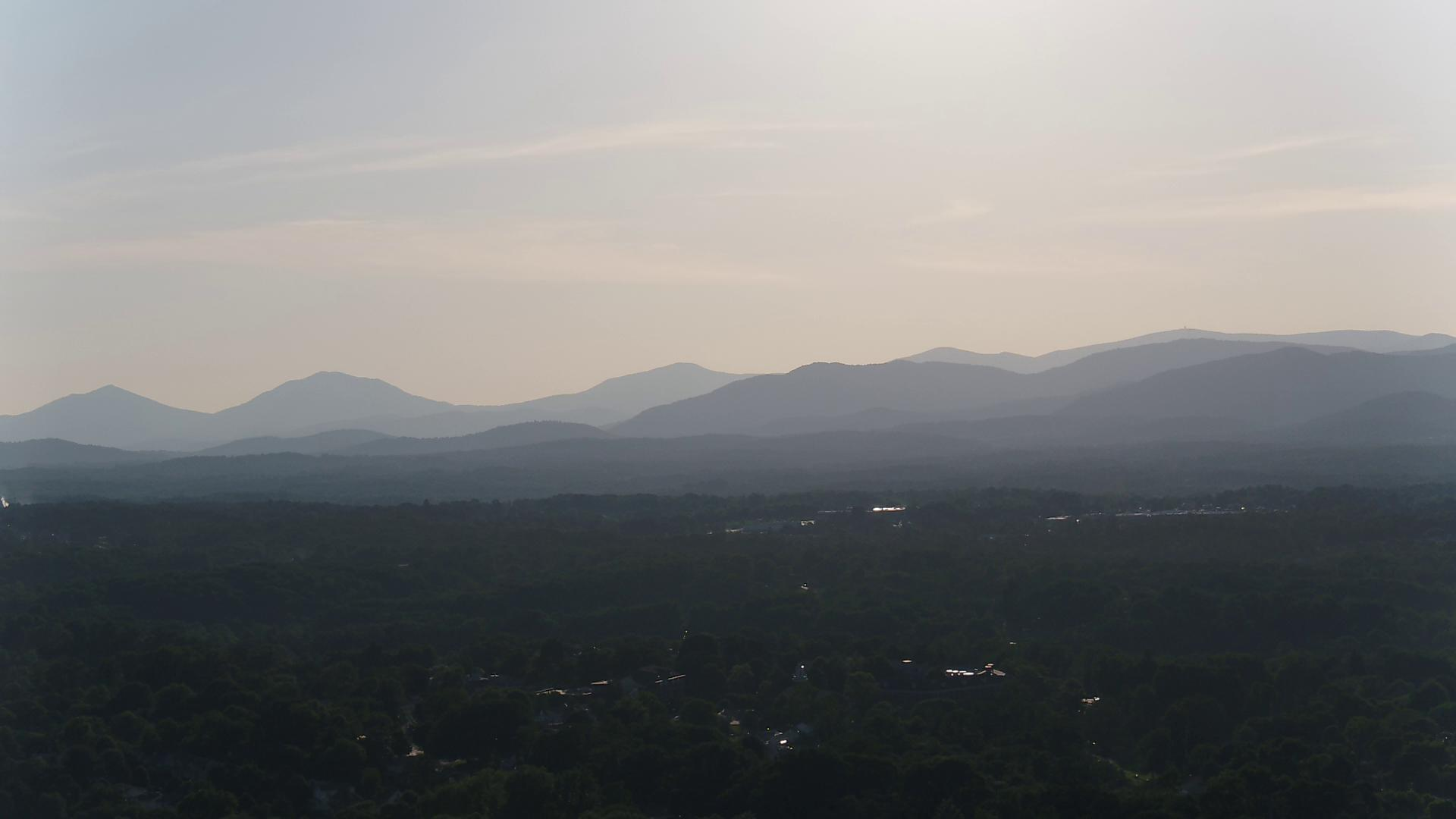 Sky 13 view of Blue Ridge Mountains