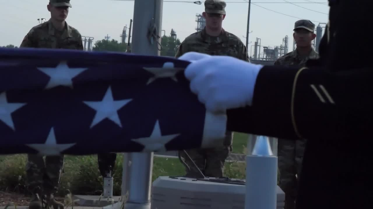 VIDEO: Indiana National Guard commemorates 'Patriot Day' and