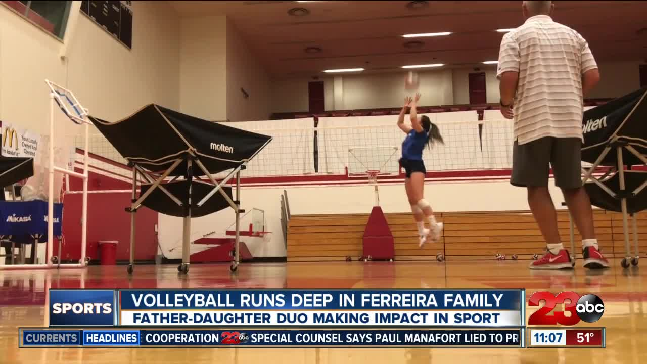 Volleyball Runs Deep For Ferreira Family