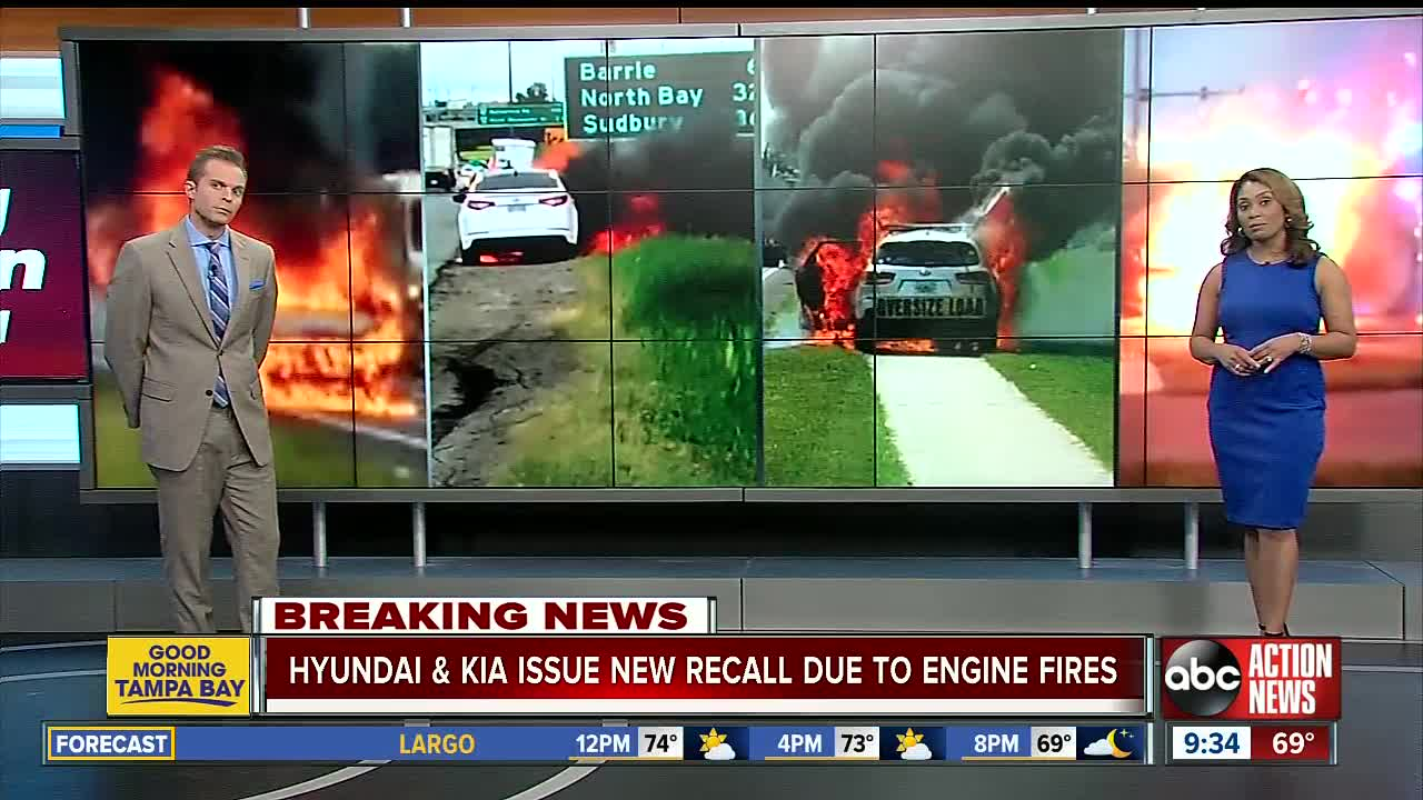 Hyundai, Kia recalls over 500000 vehicles as fire risk spreads