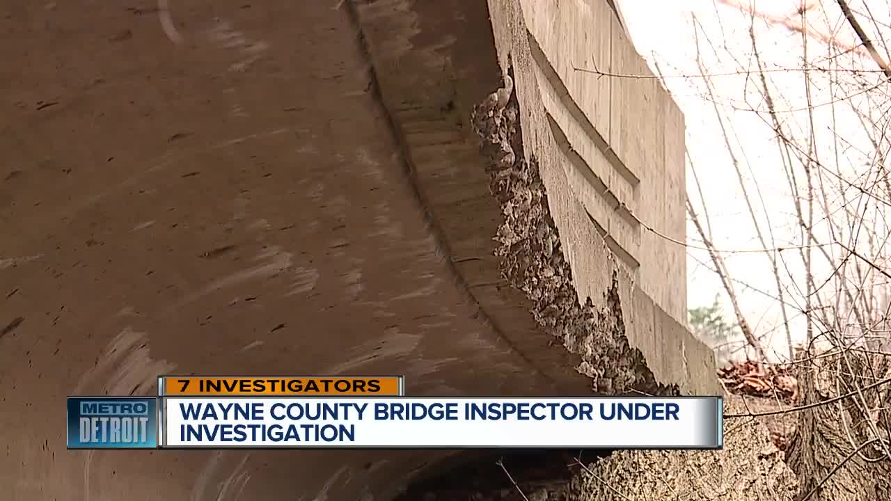 Wayne Co  Prosecutor investigating ex-bridge inspector accused of