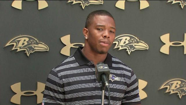 Exclusive: Newly Released Ray Rice Video Shows Couple in