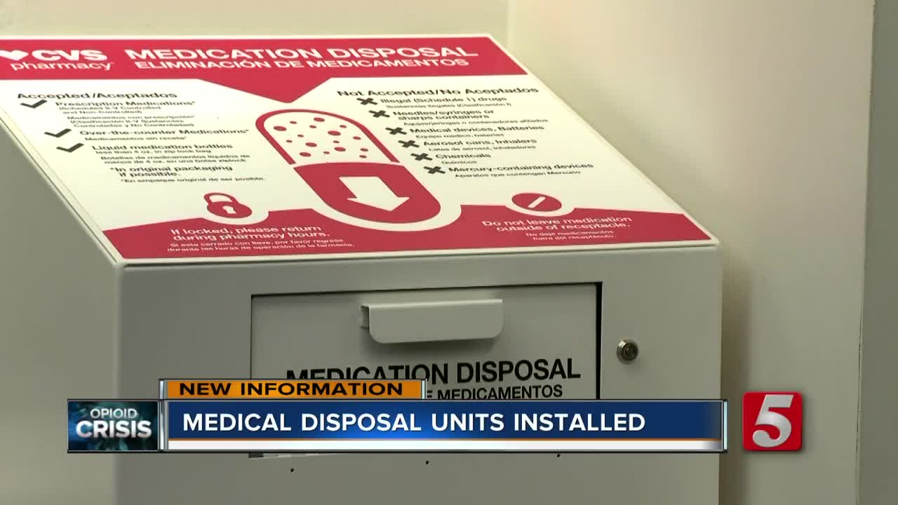 Time delay safes introduced at all Tennessee CVS pharmacies