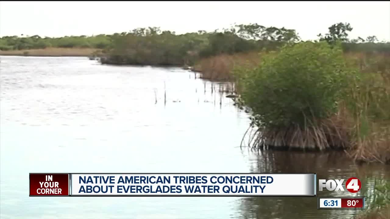 Native American tribes share concerns over quality of water